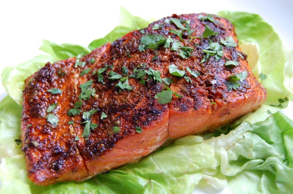 cajun salmon - ultimatepaleoguide.com