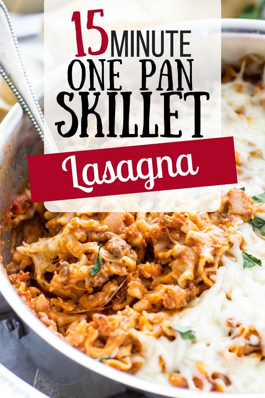 one pot lasagna - busybudgeter.com