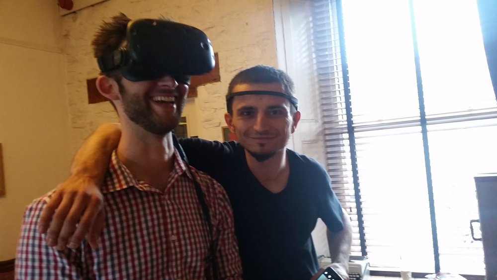 Copy of testing out an EEG-driven VR experience