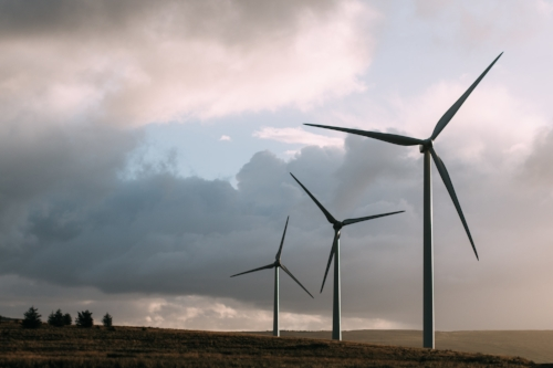 Smart windturbine allocation - We used large data sets to determine the most suitable areas for placing wind turbines.