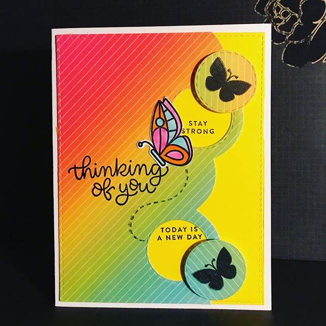 Cards 4&5.  I did mention butterflies are my fav right? Lol.  #simonsaysstamp #sssck #simonsaysstampcardkit #eviedoesit #greetingcards #handmadegreetingcards #butterflies #lawnfawn #papercrafts #smallbusiness