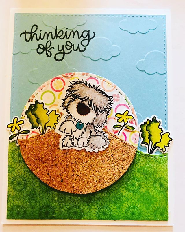 A little of this a little of that. This time I used my #spectrumnoir this is such a fun box this month @thehedgehoghollow  can't wait for the next one! #hedgehoghollow #broughttolifebyyou #eviedoesit #papercrafts #greetingcards #handmadegreetingcards #smallbusiness #cardkit #thinkingofyou #ldrscreative