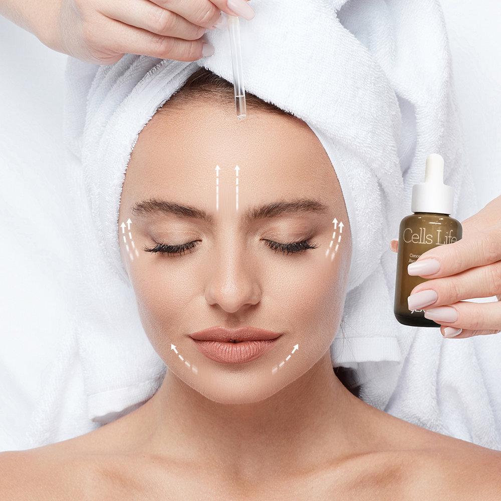 2. Stimulaatio - Hoidamme ihoa stimuloivilla hoitoseerumeilla, jotka aktivoivat muun muassa soluhengitystä, nestekiertoa sekä synergiaa ja tehostavat näin myös muiden hoitotuotteiden aktiivista tehoa.