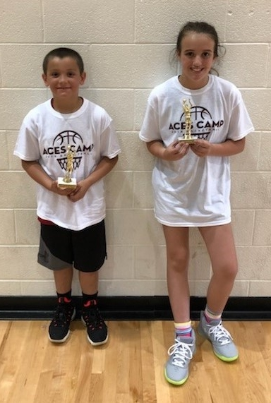 Camper of the Week: (L-R)  4th Grade - MJ Militoni  5th Grade - Evie Knapp  6th Grade - not pictured Landon Johnson and Lane Toothman