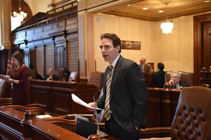 State Senator Steve Stadelman (D-Rockford)