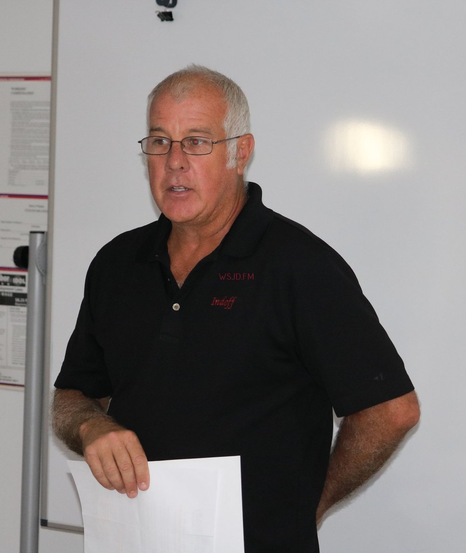 County Board Chairman Rob Dean