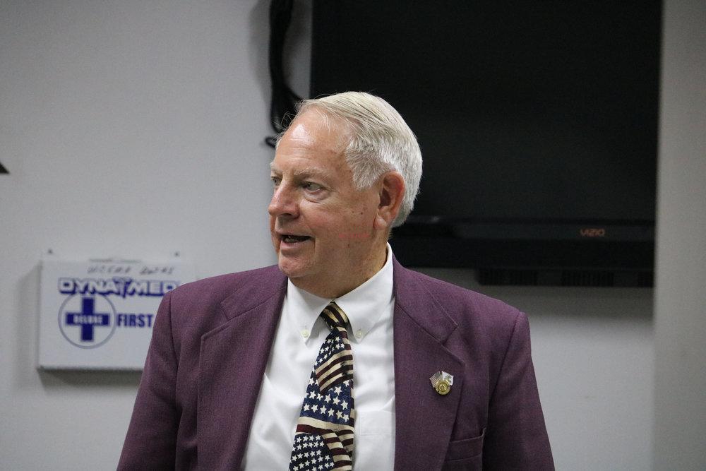 Mayor Bill Hudson