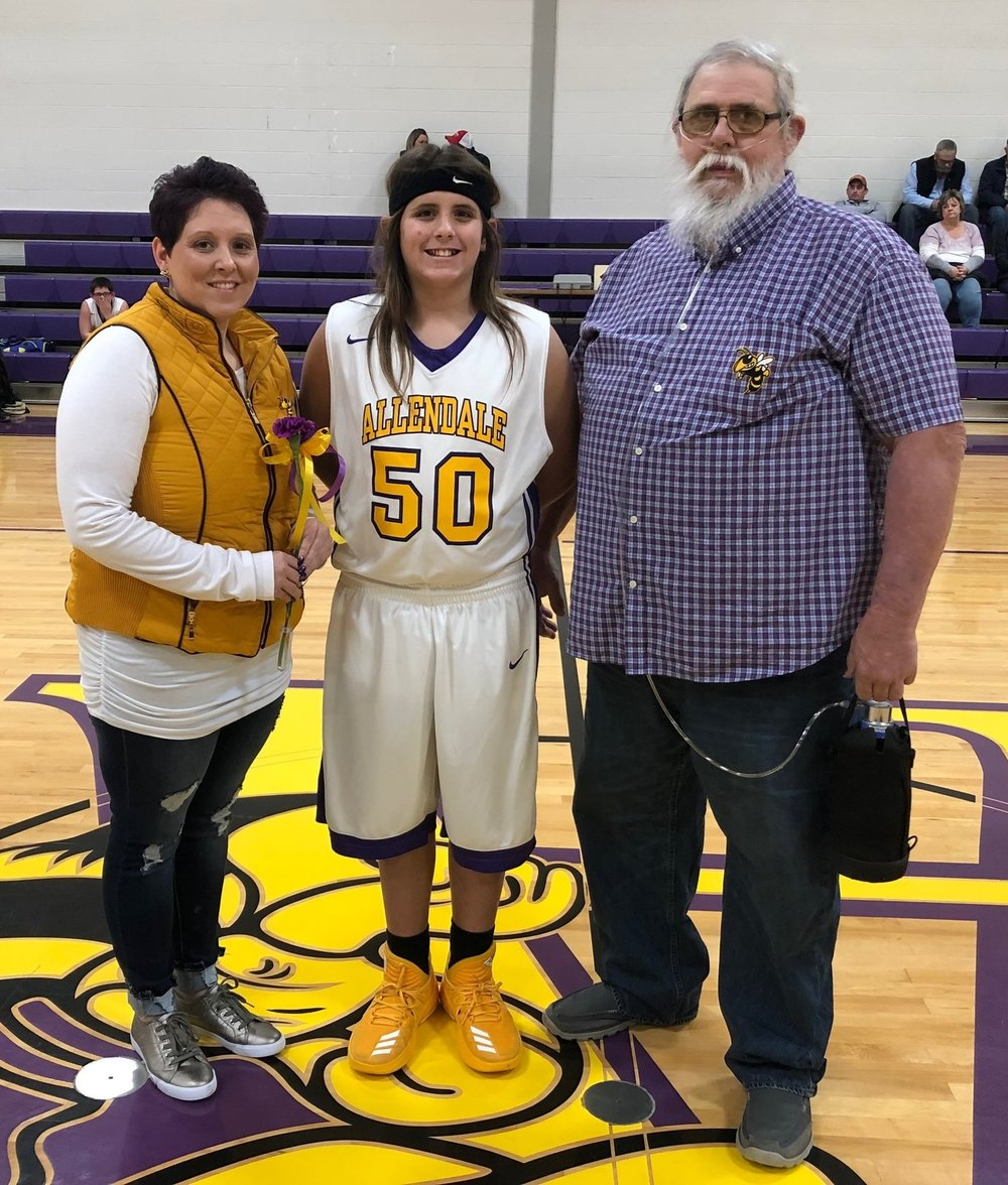 Wyatt Gher with parents Chuck and Ashli Gher