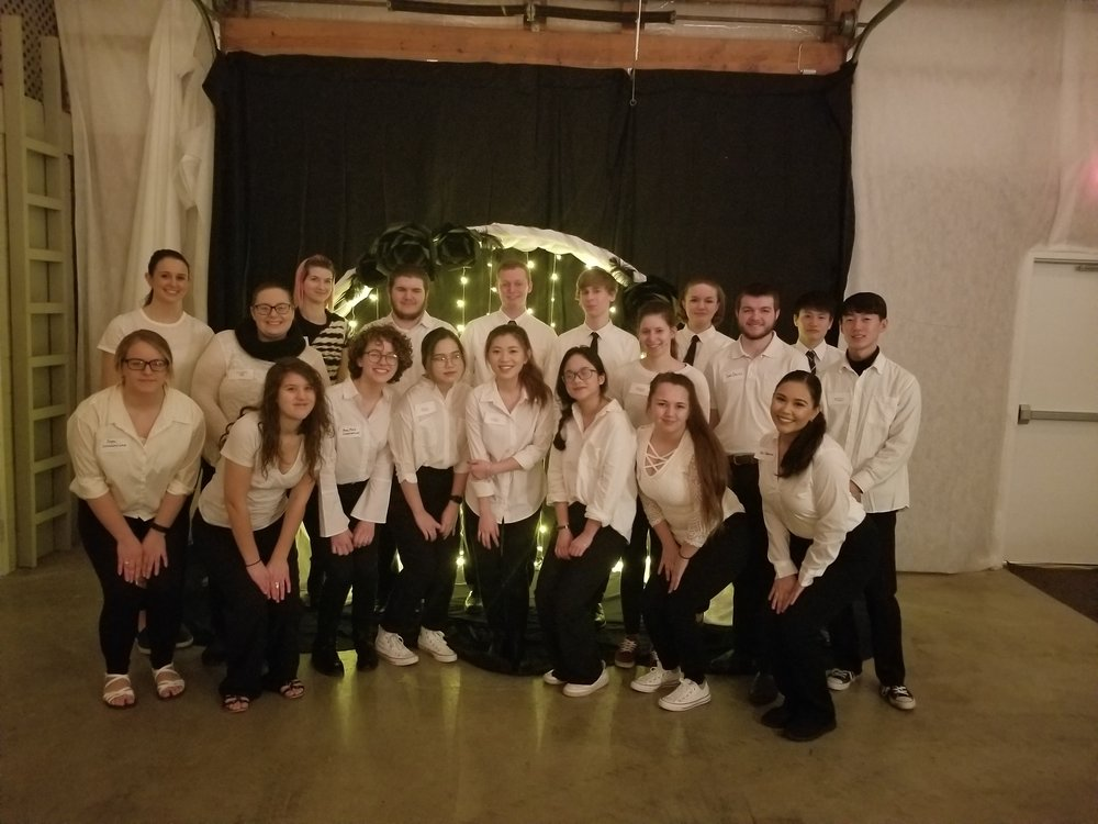 WVC students did an outstanding job as servers of the elegant dinner prepared by Rick Marshall and Hogg Heaven at the 34th Annual Dinner Dance hosted by the WVC Foundation.