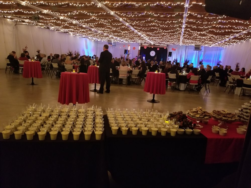 Beautiful decorations, an elegant dinner, delectable desserts, enjoyable music by the Scott Mason Band for dining and dancing, provided the key ingredients for a most successful Dinner Dance hosted by the WVC Foundation.