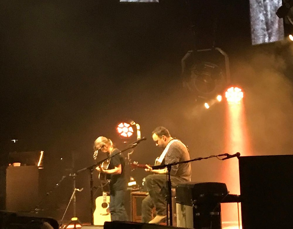 Dave and Tim Reynolds - DTE Energy Music Theater, Clarkston, MI - July 2017