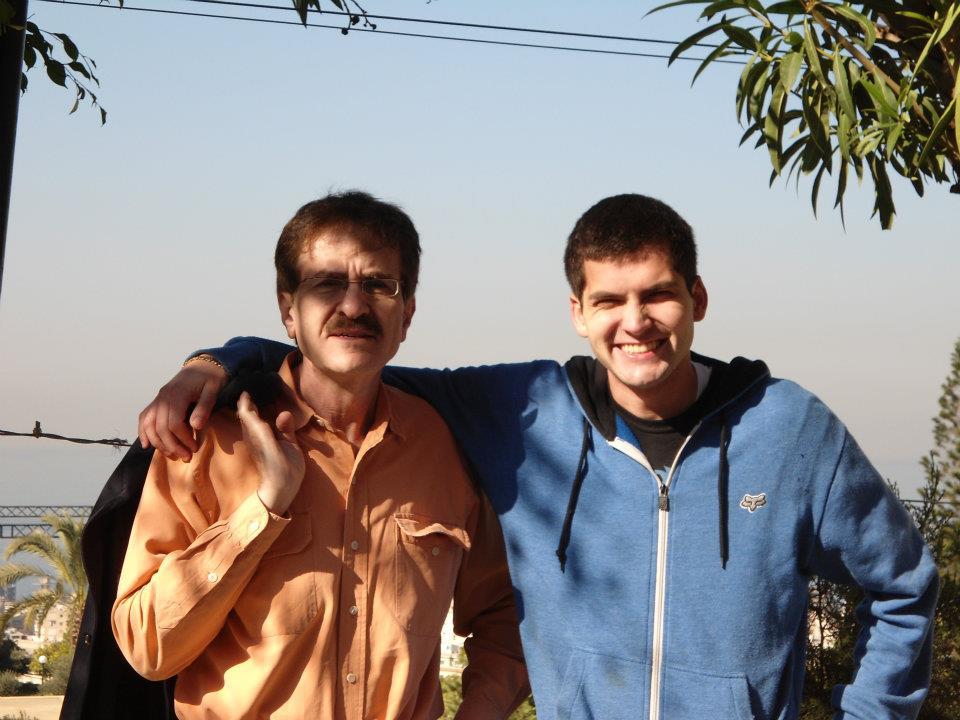 My dad and I - Beirut Lebanon - 2011
