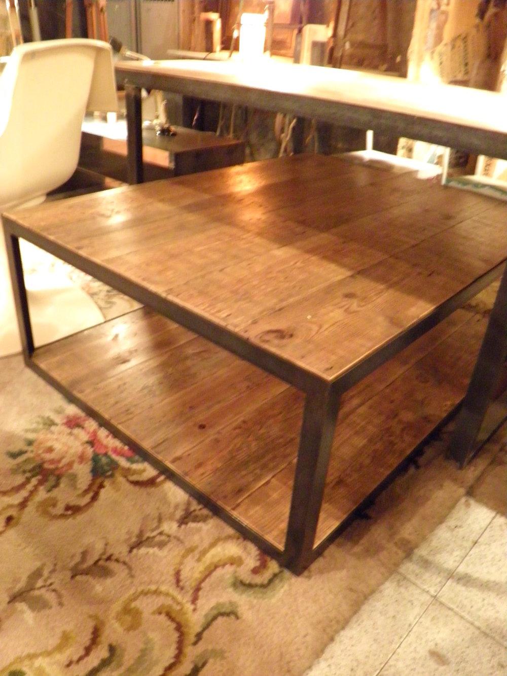 Mesa baja de pino melis antiguo - Se hace a medida