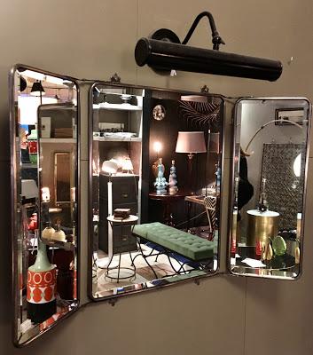 Tríptico espejos biselados, 85x55 cm