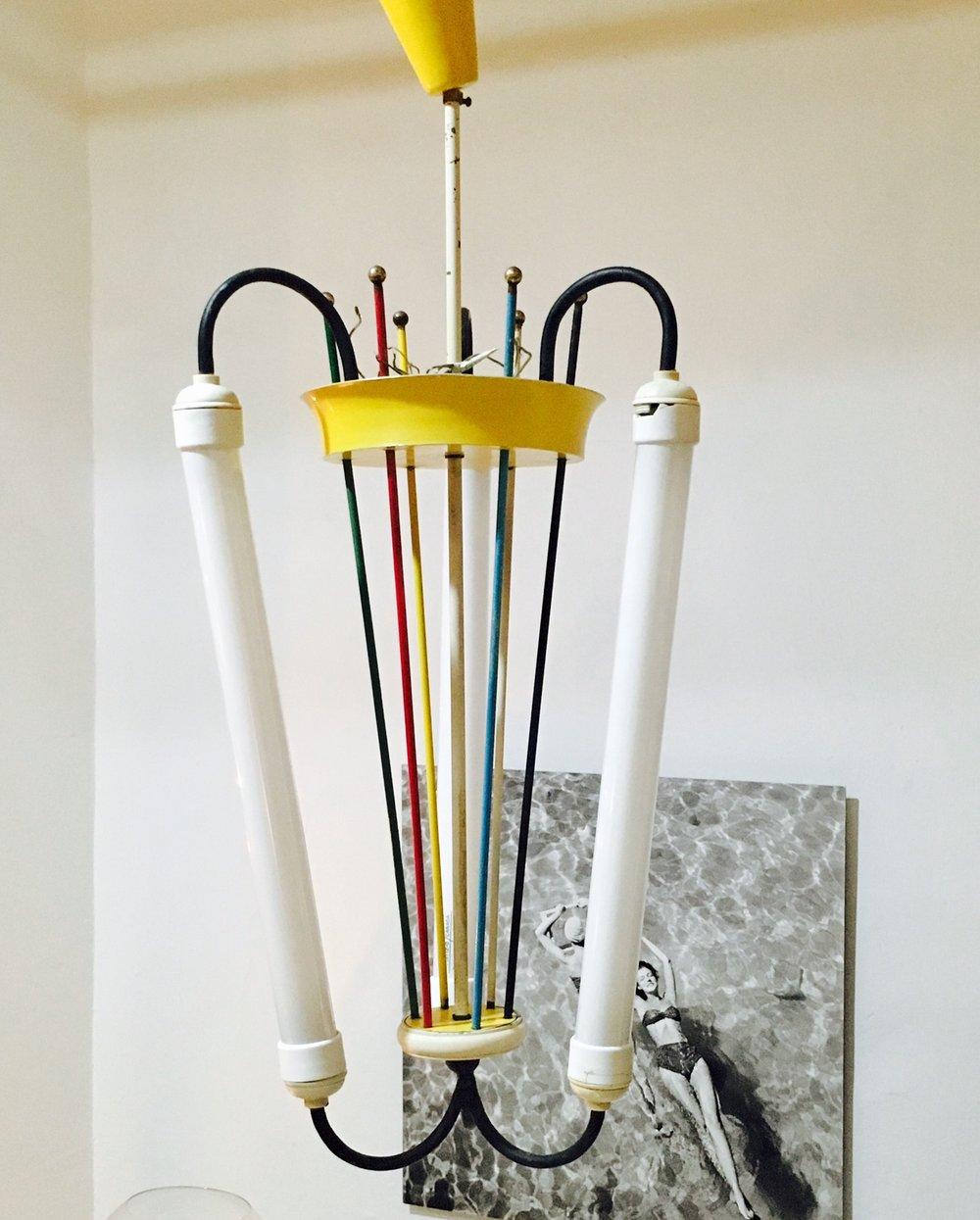 Lámpara años 50'