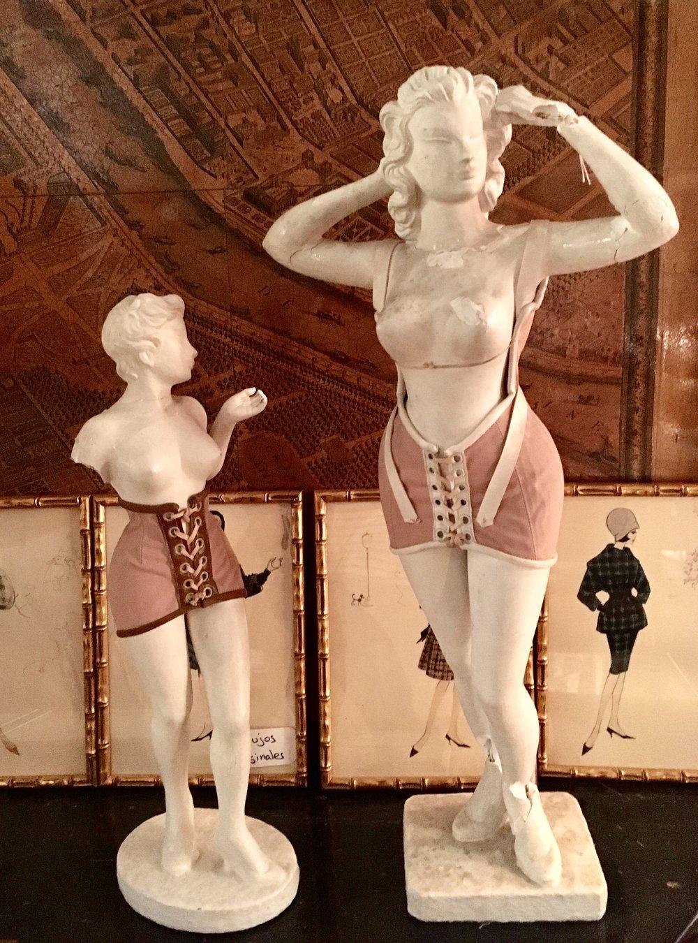 Figurines Corsetería