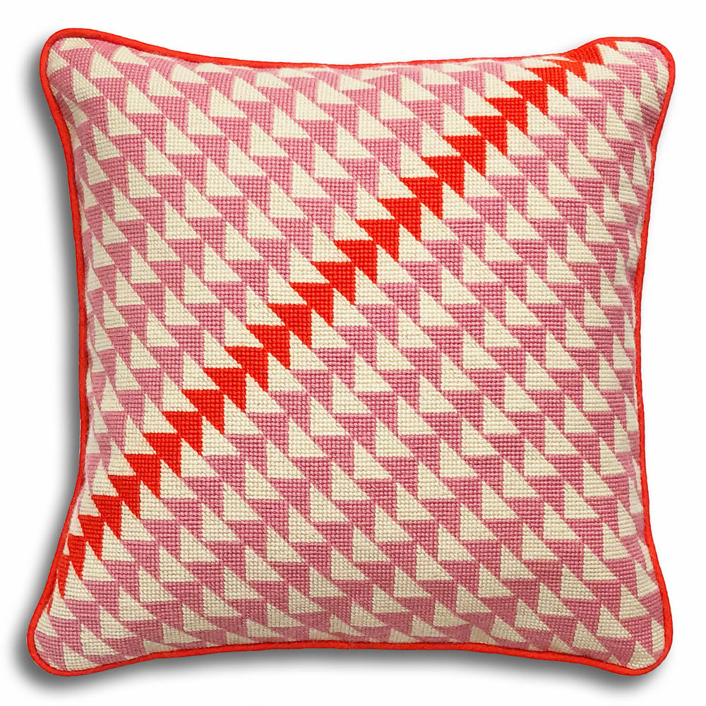 Geometric Triangles large kit Pink and orange colourway   £52     (includes free UK postage)