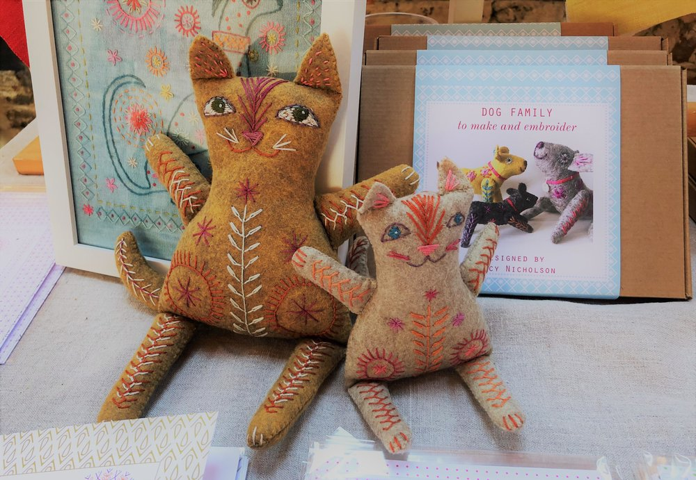 Nancy Nicholson's Cat Family