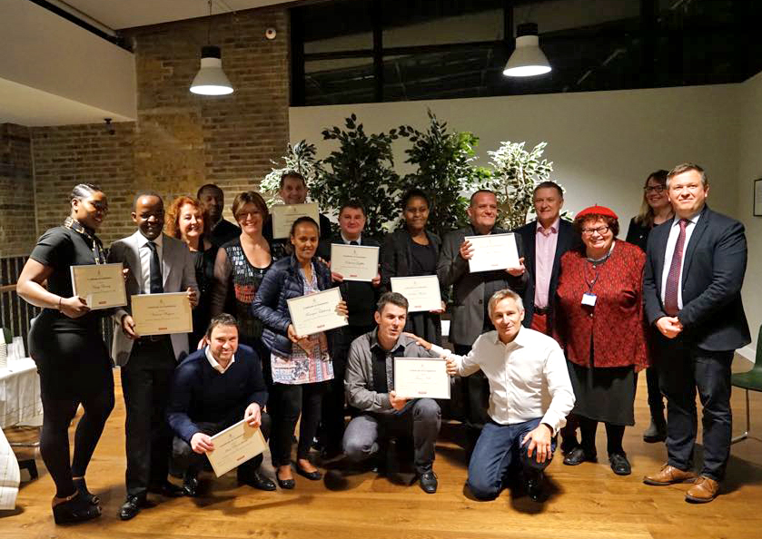 Graduation Day November 2017   - #hotelschoollondon Very proud of yet another cohort of Hotel School students graduating.