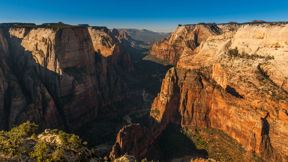 Observation point, Zion National Park