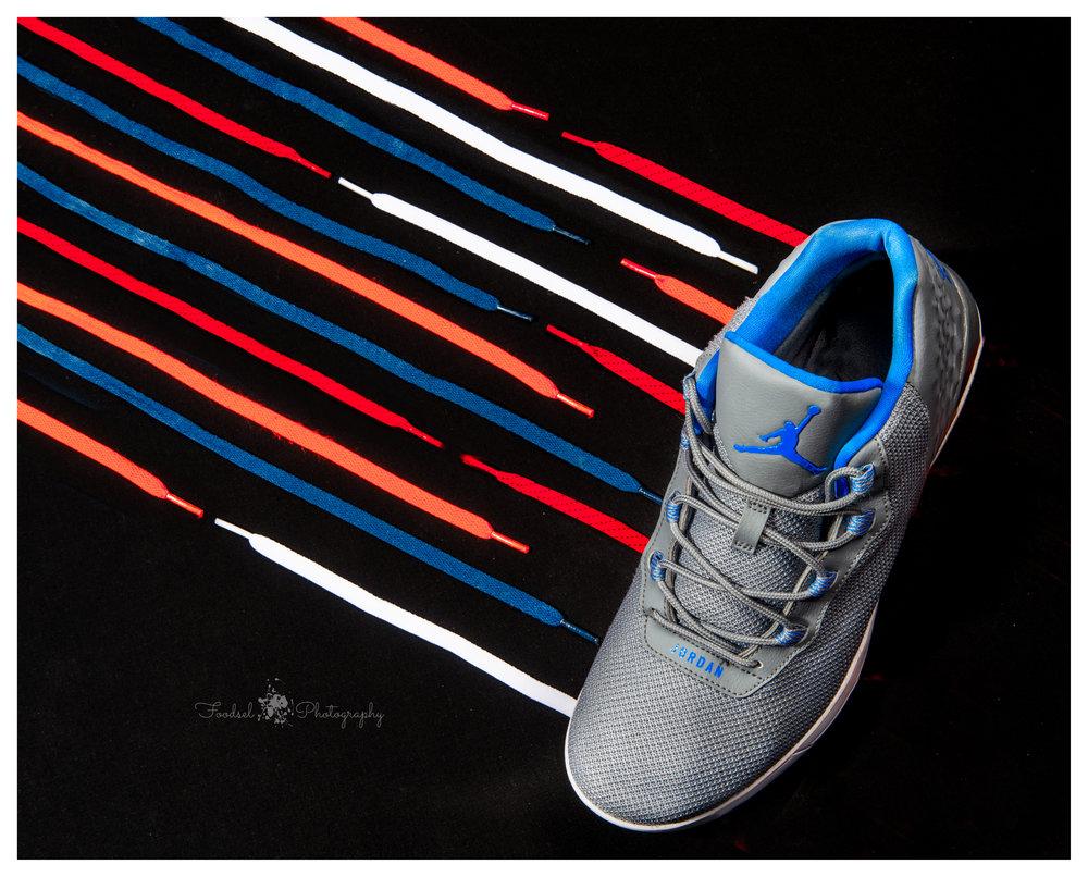 Nike, shoe, laces