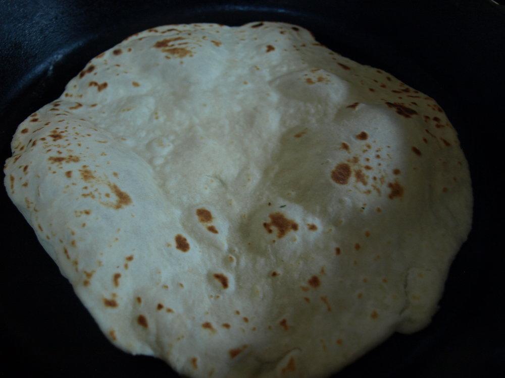 Tortilla, Flour