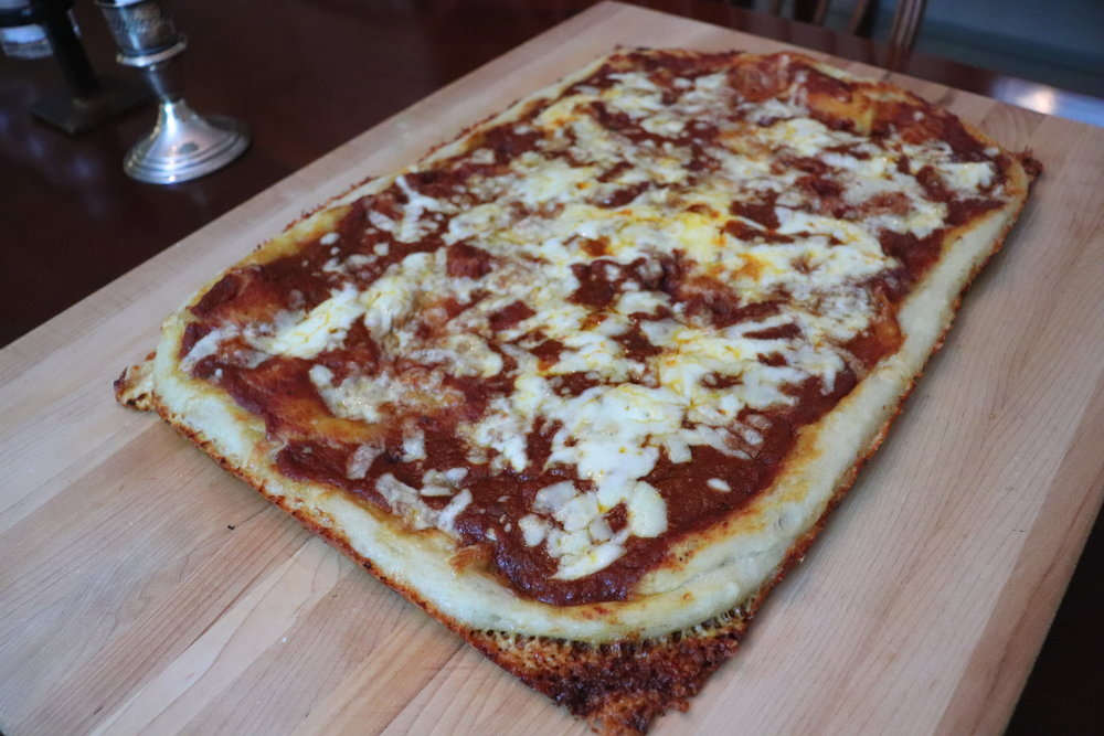 Pizza, Pan - Crispy Edged Cheese