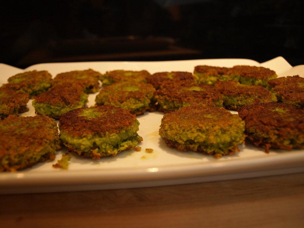 Falafel - Pea and Edamame