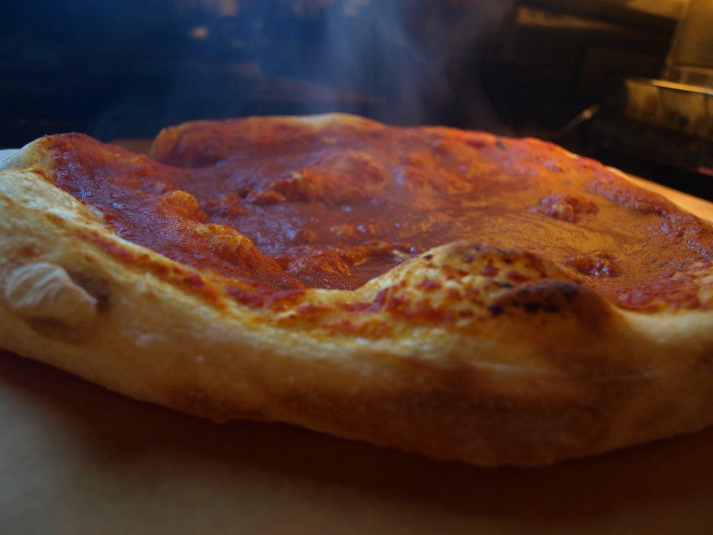 Pizza Dough - Tangzhong