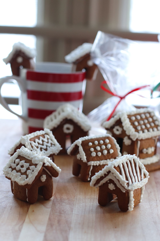 Gingerbread Mini Houses