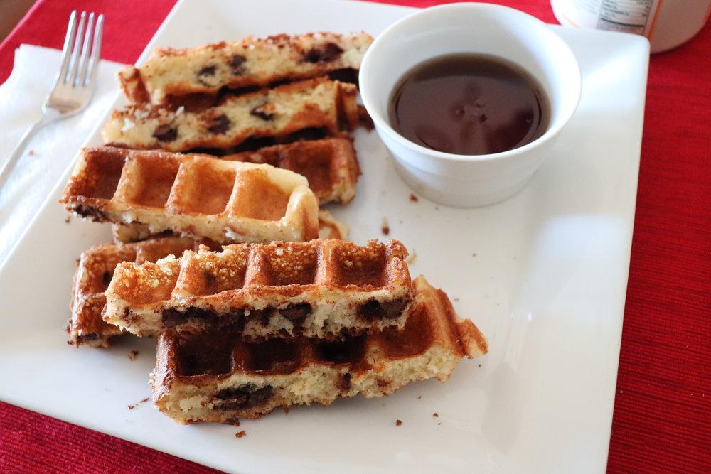 Waffles, Yeast