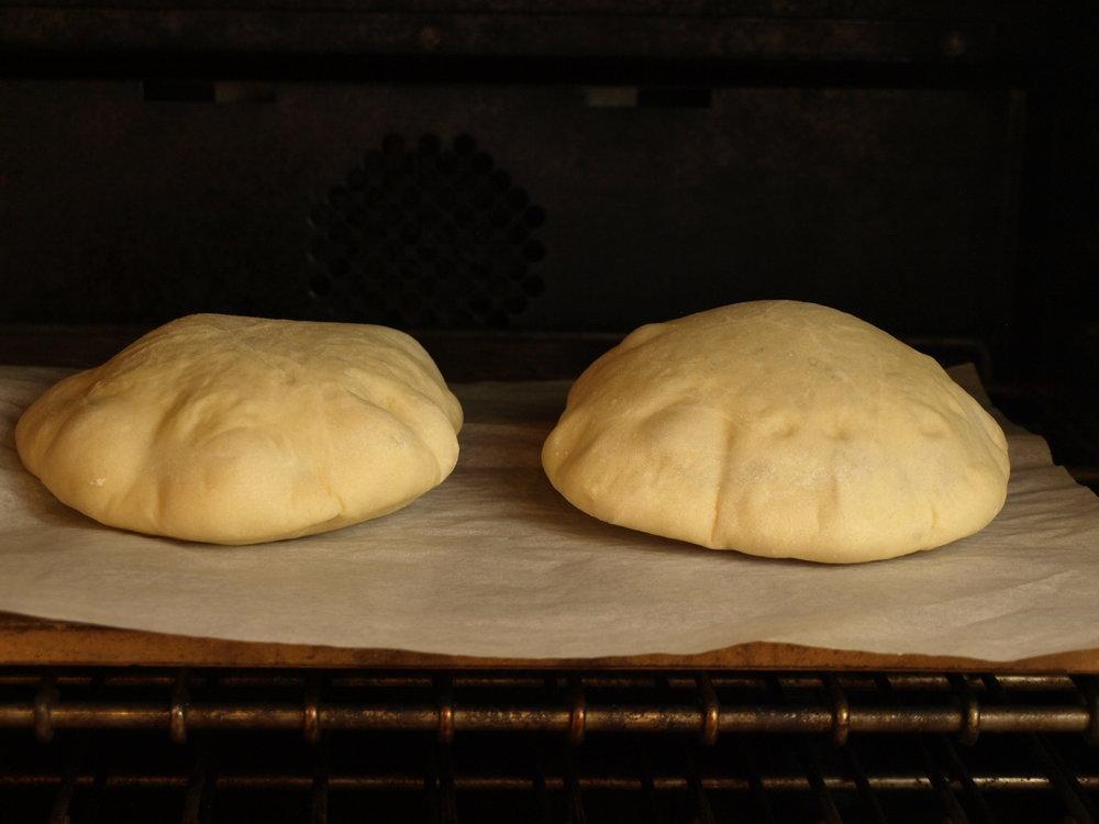 Pita Bread - Tangzhong Method