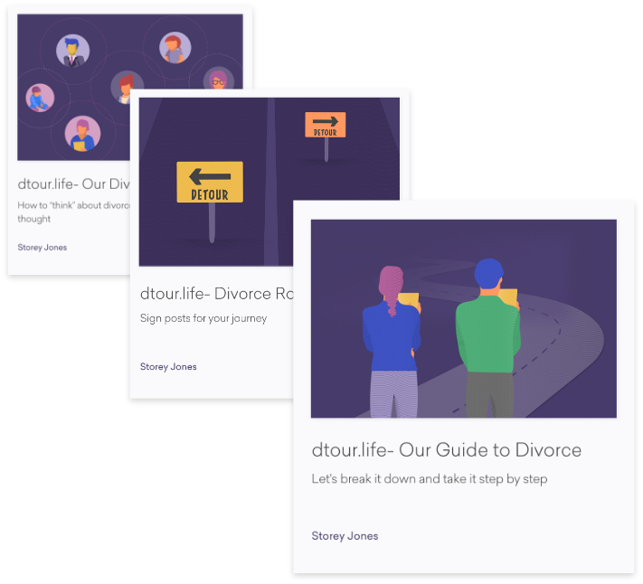 Resource Library + Blog - Our Learn section contains a suite of articles including Our Philosophy and Our Guide to Divorce to help provide a framework for how to think about the process, how to prepare, how to work with your professionals, how to approach a parenting plan and a host of other aspects of the complex and challenging transition.