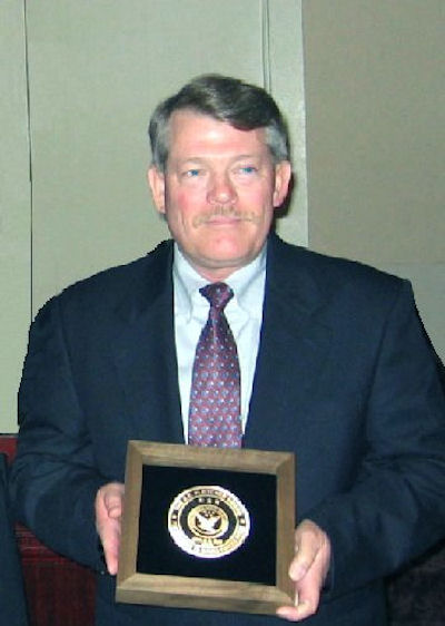 CW4 J.R. Hunt, USA - 2004 Inductee