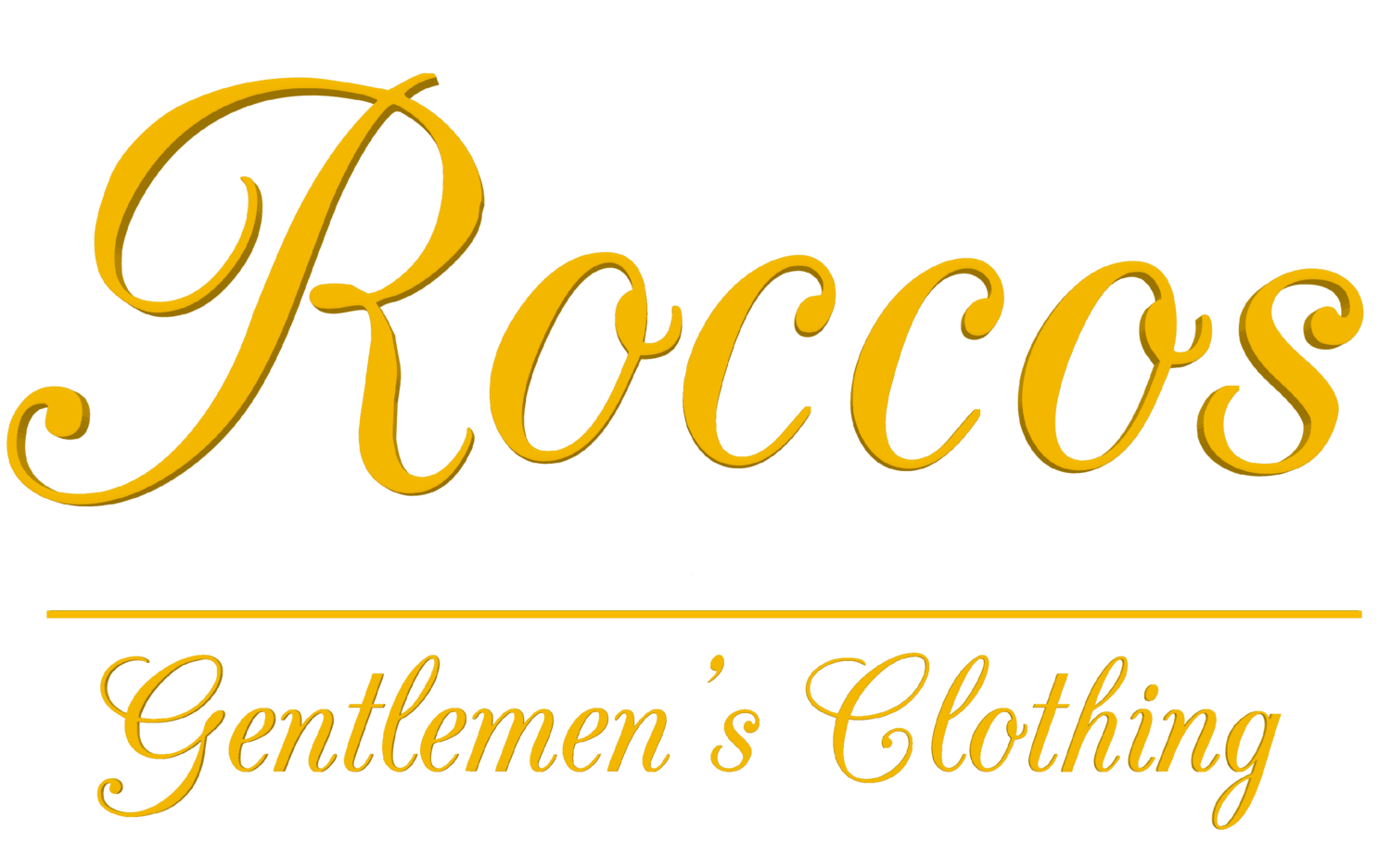 Rocco's           Gentlemen's Clothing