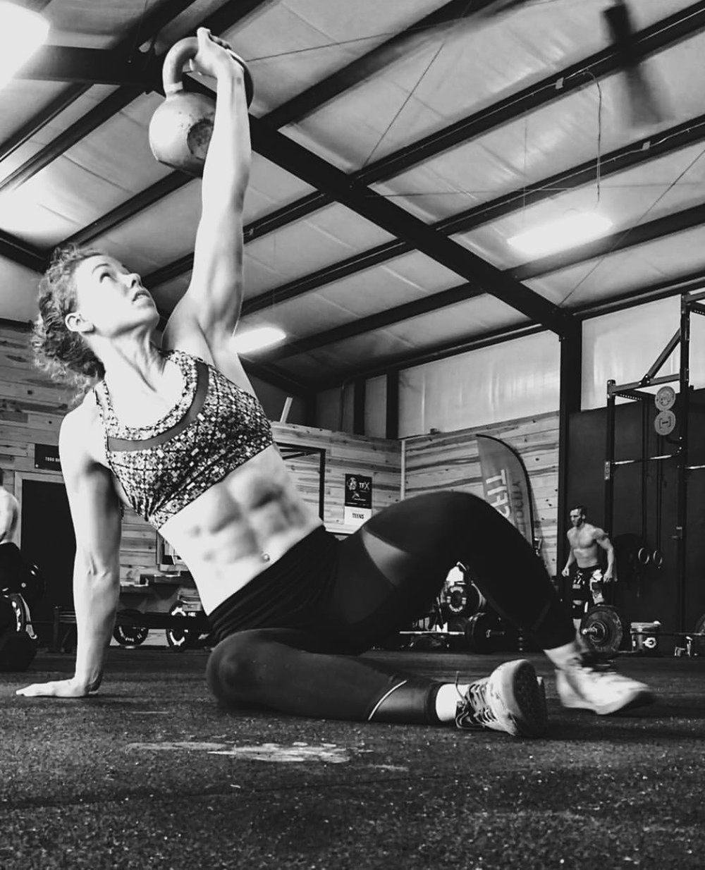 Beth - I've got this goal like I've never had before. I've been asked a lot lately what I've changed. Honestly the list is long and it all started to fall into place at one time. My back started improving and a fire was lite under me and a realization happened. If I have these big goals in the gym, then why doesn't everything else in my life line up with it as well? I worked with Emily throughout my postpartum journey. She helped me fuel my body with nutritious foods when I was nursing and had plenty of grace for me. These last 3-4 months we've really dialed in not just nutrition, but gut health and how well my organs are functioning in doing what they should. Im not all paleo, or whole30 or keto. I don't count my macros but I have a good idea of where I'm at. The key here for me is to eat foods full of nutrition. I've upped my veggie intake to take up the majority of my plate. It's weird when my meal deviates from the norm now. Eating clean is so much easier after weeks of pushing yourself into it. You not only see a difference but more importantly feel the difference. We also did a Functional Evaluation to see where my nutritional deficiencies where and a plan to get them on track.. I highly recommend looking into an FE to see what/where your body is off course. Once everything starts working as it should, everything else can start to fall into place.