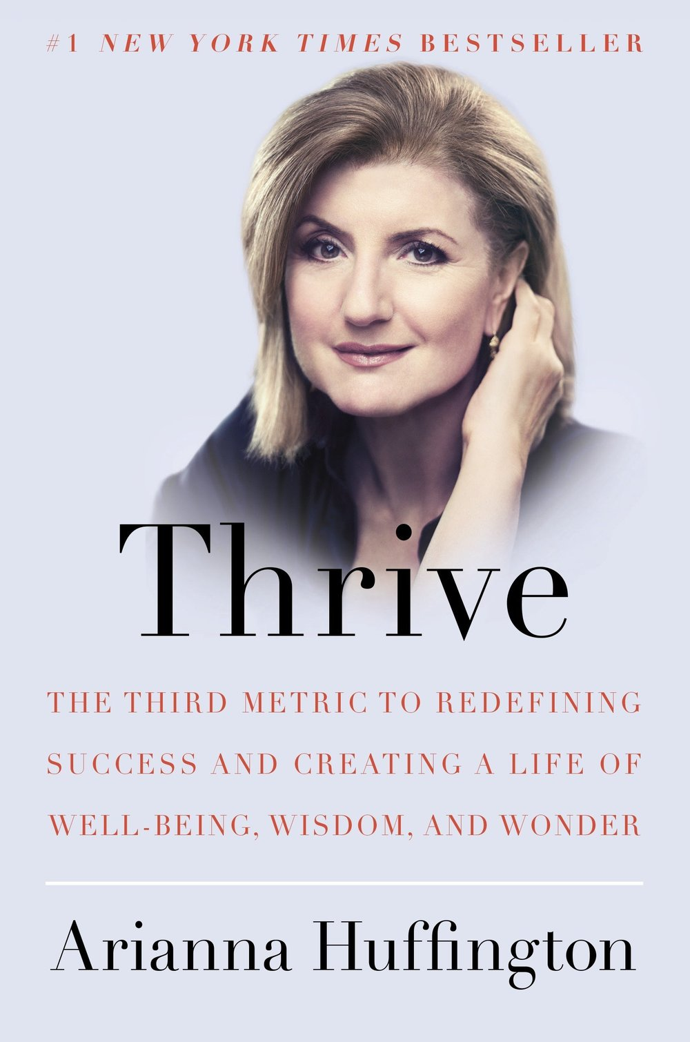 "In this deeply personal book, Arianna talks candidly about her own challenges with managing time and prioritizing the demands of a career and raising two daughters–of juggling business deadlines and family crises, a harried dance that led to her collapse and to her ""aha moment.""  Career, Productivity"