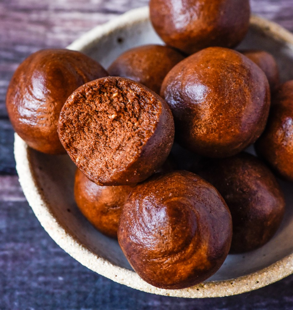 Chocolate Peanut Butter Protein Balls, Fitness