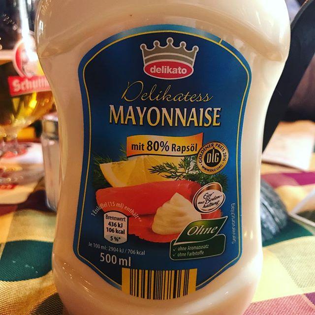 Wir gehören zusammen wie Pech&Schwel, Ebbe&Flut oder Lachs&Mayonnaise. #pannenhilfe #podcast #wirgegegendenrestderwelt #mayonnaise #lachs #fail #marketinggenius