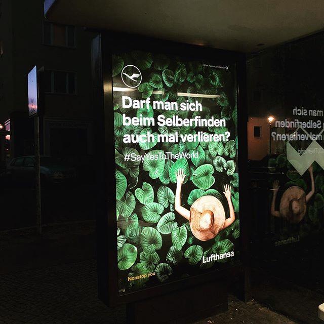 Über sieben Wolken musst du fliegen. #wirsuchennoch #pannenhilfe #podcast #lufthansa #notsponsoredyet #berlin