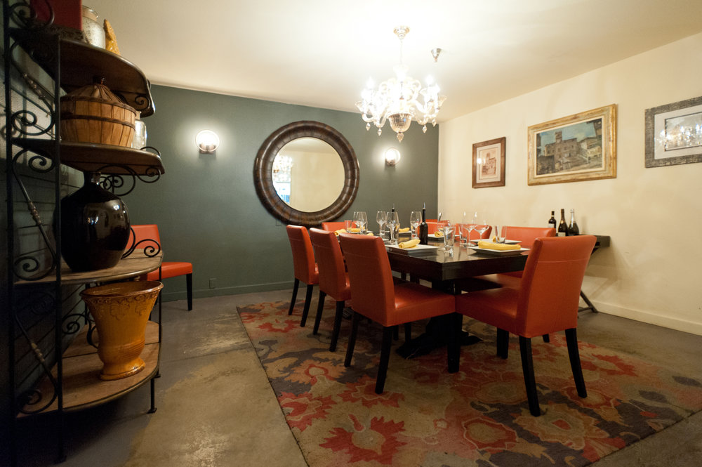 CORTONA ROOM - Our Cortona Room is a formal dining space that holds 5-12 people.