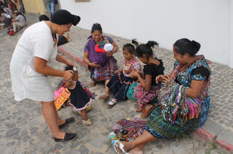 Mecoh & Xaria in Antigua, Guatemala 2014