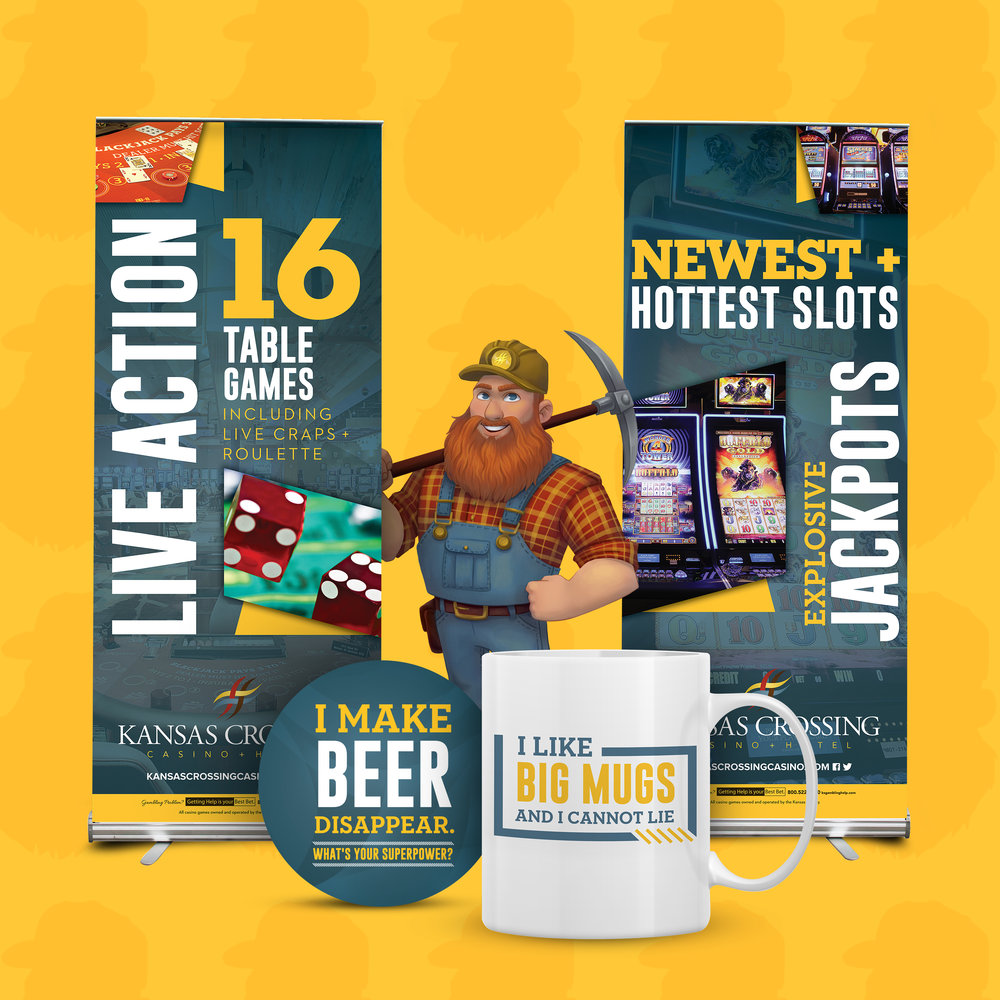 Kansas Crossing Casino + Hotel: Branding Campaign
