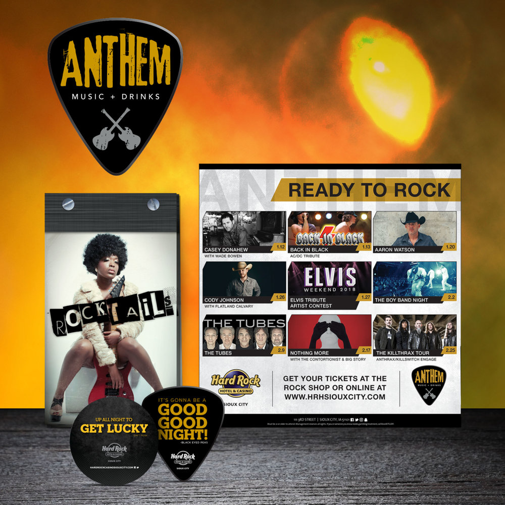 Hard Rock Hotel & Casino Sioux City: Anthem Branding