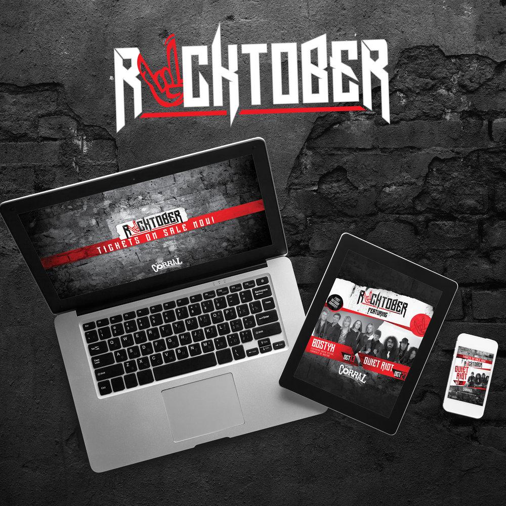 Kansas Crossing Casino + Hotel: Rocktober Campaign