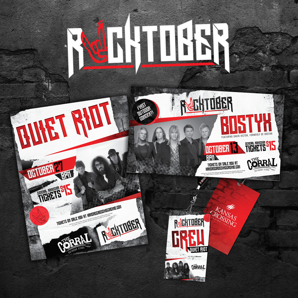 Kansas Crossing Casino + Hotel: Rocktober
