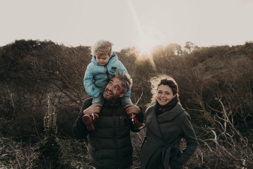 Den Haag Family Photoshoot at Westduinpark