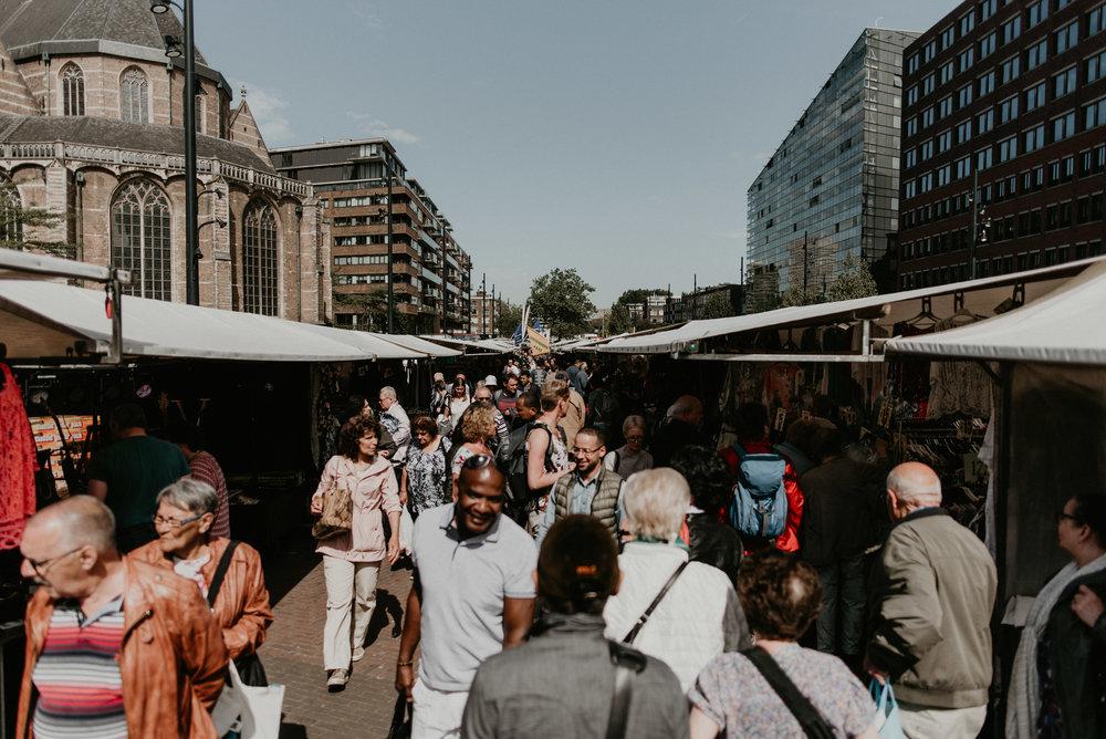 Rotterdam urban photo race blaak Markt