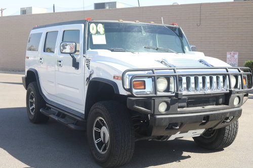 2004 Hummer H2 White American Auto Truck Sales