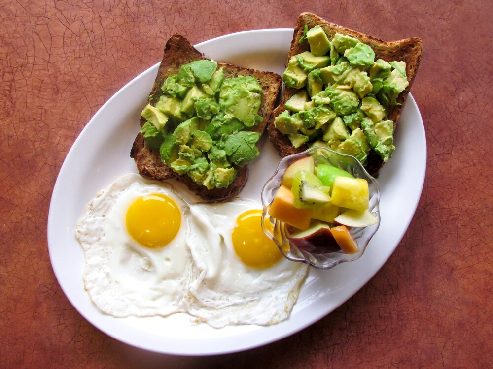 AVOCADO TOAST & EGG PLATTER